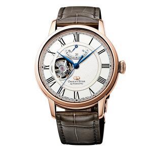 自動巻 腕時計 メンズ セミスケルトン オリエントスター ORIENTSTAR 男性用 RK-HH0003S 取り寄せ品|morimototokeiten