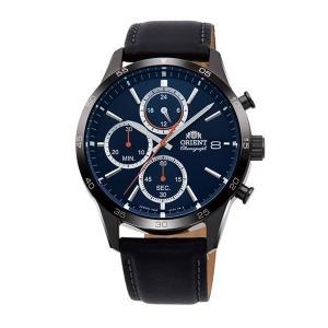 メンズ 腕時計 オリエント ORIENT 日本製 クロノグラフ RN-KU0003L 電池式 名入れ刻印対応、有料 取り寄せ品|morimototokeiten