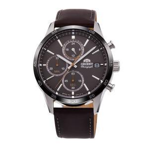 メンズ 腕時計 オリエント ORIENT 日本製 クロノグラフ RN-KU0004N 電池式 名入れ刻印対応、有料 取り寄せ品|morimototokeiten