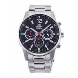 オリエント RN-KV0001B クロノグラフ 男性用腕時計 ORIENT 名入れ刻印対応、有料 取り寄せ品|morimototokeiten