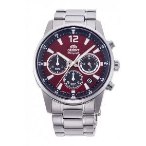オリエント RN-KV0003R クロノグラフ 男性用腕時計 ORIENT 名入れ刻印対応、有料 取り寄せ品|morimototokeiten