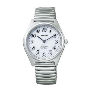 伸縮バンド 伸び縮み 蛇腹バンド ジャバラ ソーラー シチズン 男性用 メンズ 腕時計 紳士用 レグノRS25-0541C 名入れ刻印対応、有料 ZAIKO morimototokeiten