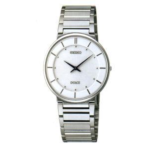セイコー ドレスウォッチ ドルチェ 男性用腕時計 SACK015 名入れをした うでトケイをプレゼントに 刻印対応、有料 取り寄せ品|morimototokeiten