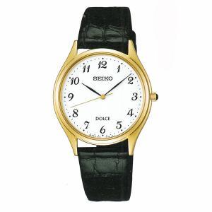 セイコー ドルチェ SACM172 男性用 腕時計 電池時計 革バンド SEIKO DOLCE メンズ 紳士用 名入れ刻印対応、有料 取り寄せ品|morimototokeiten