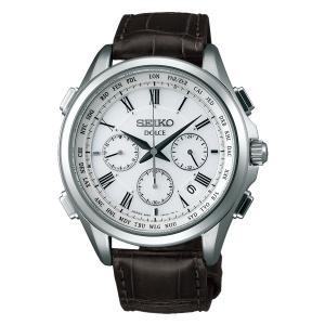 セイコー ソーラー電波時計 SADA039 ドルチェ 革バンド SEIKO DOLCE 男性用 腕時計 メンズウオッチ 刻印不可 取り寄せ品|morimototokeiten