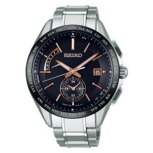 セイコー ブライツ ソーラー電波時計 SAGA243 男性用腕時計 SEIKO BRIGHTZ 名入れ刻印対応、有料 取り寄せ品 morimototokeiten
