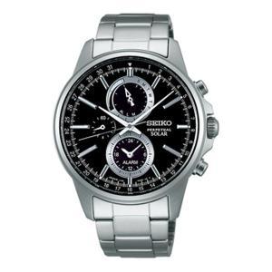 SEIKO SPIRIT 男性用 SBPJ005 セイコー クロノグラフ ソーラー メンズ腕時計 名入れ刻印対応、有料 取り寄せ品|morimototokeiten