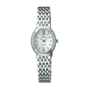 ソーラー女性用腕時計 セイコー ドレスウォッチ エクセリーヌ SWCQ047 名入れ刻印対応、有料 取り寄せ品|morimototokeiten