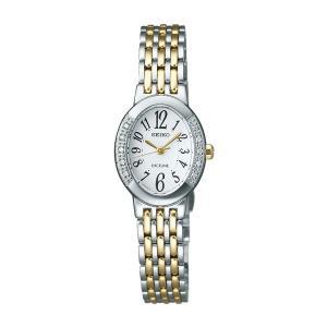 ソーラー女性用腕時計 セイコー ドレスウォッチ エクセリーヌ SWCQ051 名入れ刻印対応、有料 取り寄せ品|morimototokeiten