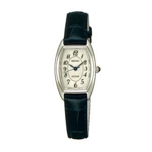 セイコー SEIKO 女性用腕時計 SWDB063 革バンド 婦人用 レディース ドレスウォッチ エクセリーヌ EXCELINE 名入れ刻印対応、有料 取り寄せ品 morimototokeiten