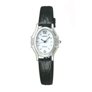セイコー 女性用 腕時計 SWDX175 革バンド 電池時計 SEIKO エクセリーヌ EXCELINE 名入れ刻印対応、有料 取り寄せ品 morimototokeiten