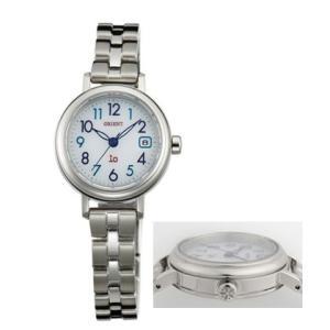 オリエント ソーラー 腕時計 WI0031WG オール数字 イオ io ウオッチ ORIENT 女性用 婦人用 名入れ刻印対応、有料 取り寄せ品|morimototokeiten