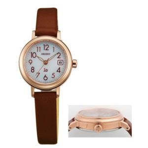 オリエント ソーラー 腕時計 WI0041WG オール数字 カーフ革バンド イオ io ウオッチ ORIENT 女性用 婦人用 名入れ刻印対応、有料 取り寄せ品|morimototokeiten