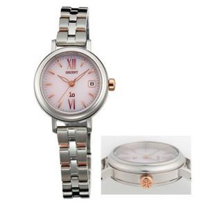 オリエント ソーラー 腕時計 WI0061WG イオ io ウオッチ ORIENT 女性用 婦人用 名入れ刻印対応、有料 取り寄せ品|morimototokeiten