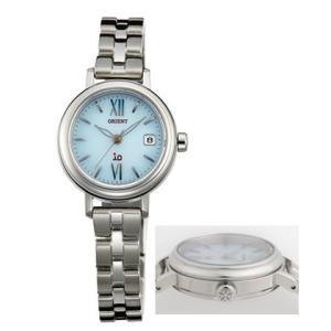 オリエント ソーラー 腕時計 WI0071WG イオ io ウオッチ ORIENT 女性用 婦人用 名入れ刻印対応、有料 取り寄せ品|morimototokeiten