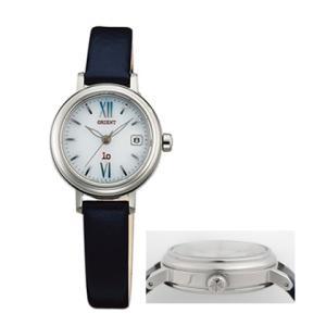オリエント ソーラー 腕時計 WI0081WG カーフ革バンド イオ io ウオッチ ORIENT 女性用 婦人用 名入れ刻印対応、有料 取り寄せ品|morimototokeiten