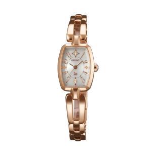 ソーラー 女性用 腕時計 オリエント 婦人用 光 あかり カジュアル レディース 時計 ORIENT イオ io ウオッチ WI0161WD 名入れ刻印対応、有料 取り寄せ品|morimototokeiten