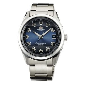 オリエント ネオ ソーラー電波時計 WV0071SE メンズ 腕時計 男性用 ウオッチ ORIENT Neo70's  名入れ刻印対応、有料 取り寄せ品|morimototokeiten