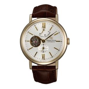 腕の動きで動く自動巻 WZ0141DK オリエントスター クラシックセミスケルトン 男性用腕時計 メンズ ORIENTSTAR 取り寄せ品|morimototokeiten