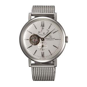 腕の動きで動く自動巻 WZ0161DK オリエントスター クラシックセミスケルトン 男性用 腕時計 ORIENTSTAR 取り寄せ品|morimototokeiten
