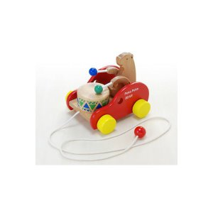 木 おもちゃ だいわ ポコポコくまさん|morinokobito