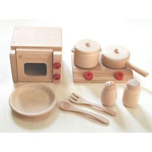 ままごと キッチン だいわ ミニ調理セット ミニ|morinokobito