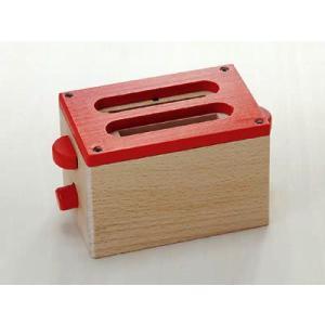 商品名:トースター 97644 /木のおもちゃ/ままごと/誕生日プレゼント 商品サイズ:9×6×6c...
