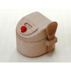 おままごと キッチン 木のおもちゃ 炊飯器(へら付) 97648|morinokobito
