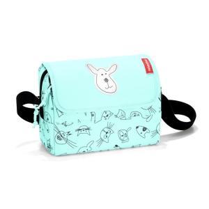 キッズ ファミリーバッグ reisenthel ライゼンタール CATS&DOGS エブリデイバッグ キッズ MINT IF4062|morinokobito