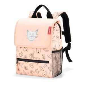 キッズ ファミリーバッグ reisenthel ライゼンタール CATS&DOGS バックパック キッズ ROSE IE3064|morinokobito