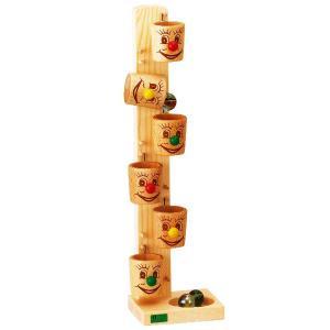 木のおもちゃ スロープトイ 知育玩具 べック ローラーカップ BE20022 morinokobito