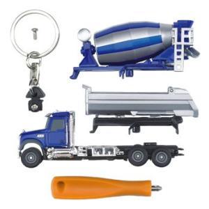 はたらく車 おもちゃ BRUDER MACK セメント&トラックキーホルダー00611|morinokobito