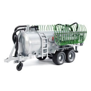 車 おもちゃ 農業 トラクター BRUDER ブルーダー Fliegl 散布管付き バレルトレーラー 02020|morinokobito