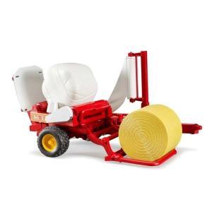 車 おもちゃ 農業 トラクター BRUDER(ブルーダー ベールラッパー&ベールアソートセット 02122 morinokobito