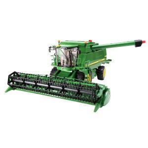 車 おもちゃ 農業 トラクター BRUDER ブルーダー JD コンバインハーベスター T670i 02132|morinokobito