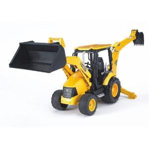 はたらく車のおもちゃ 重機 ショベルカー BRUDER(ブルーダー) JCB MIDI CXバックホーローダー 02427|morinokobito|02