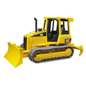 はたらく車 おもちゃ 1/16 ブルドーザー BRUDER(ブルーダー) CAT トラクター 02443|morinokobito