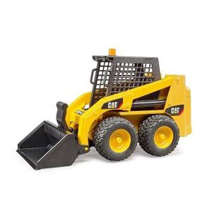 車 おもちゃ ショベル ブルドーザー BRUDER ブルーダー CAT スキッドステアローダー 02481|morinokobito