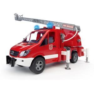 車 おもちゃ はたらく車 BRUDER ブルーダー MB 消防車 02532|morinokobito