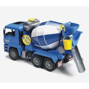 車 おもちゃ はたらく車 BRUDER ブルーダー MAN セメントミキサー 02744|morinokobito