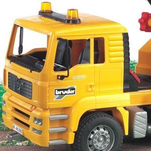はたらく車 おもちゃ 1/16 クレーン車 BRUDER(ブルーダー) MAN クレーントラック 02754 morinokobito 02