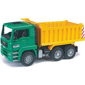 はたらく車 おもちゃ 1/16 ダンプカー BRUDER(ブルーダー) MAN Tip up トラック 02765|morinokobito