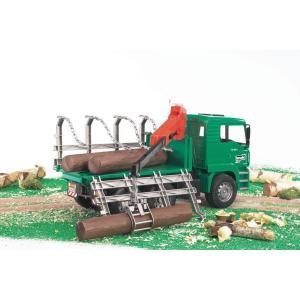 車 おもちゃ はたらく車 BRUDER ブルーダー MAN ティンバートラック 02769|morinokobito