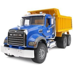 車 おもちゃ ダンプ トラック BRUDER ブルーダー MACK Tip up トラック 02815|morinokobito