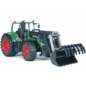 車 おもちゃ 農業 トラクター BRUDER ブルーダー Fendt 936 Vario フロントローダー 03041|morinokobito