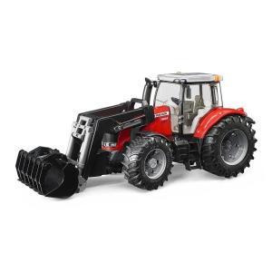 車 おもちゃ 農業 トラクター BRUDER ブルーダー MF7624 フロントローダー 03047|morinokobito