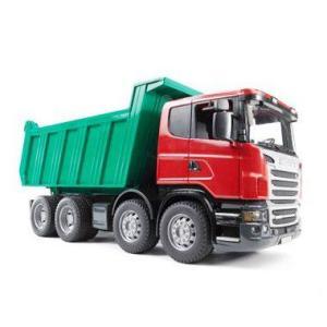 車 おもちゃ ダンプ トラック BRUDER ブルーダー SCANIA Tip up トラック 03550|morinokobito