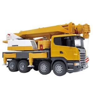 車 おもちゃ クレーン車 BRUDER ブルーダー SCANIA LH クレーン 03570|morinokobito