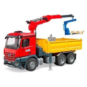 車 おもちゃ BRUDER ブルーダー MB Arocs クレーン作業トラック 03651|morinokobito