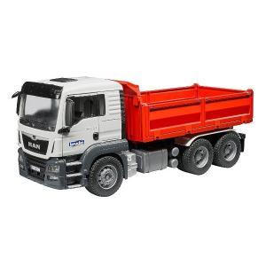 車 おもちゃ はたらく車 トラック BRUDER ブルーダー MAN TGS コンストラクショントラック 03765|morinokobito